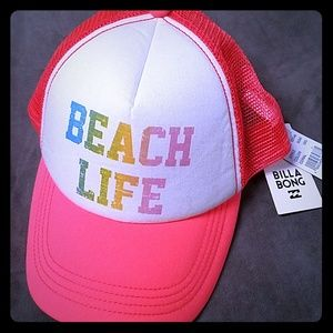 NWT Billabong beach hat